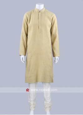 Golden Color Kurta Pajama