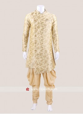 Golden Color Patiala Suit