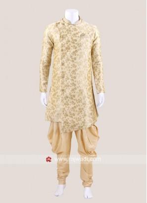 Golden Color Patiala Suit