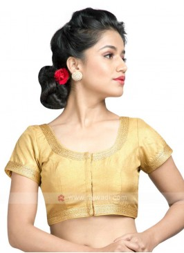 Golden Color Ready Blouse