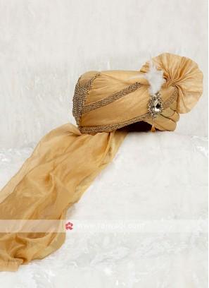 Golden Color Wedding Turban