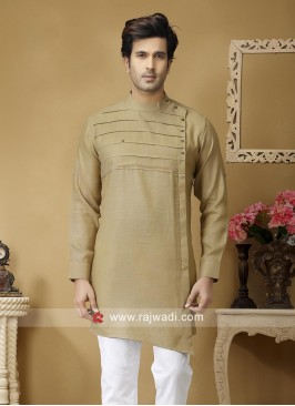 Golden Cream Kurta For Wedding