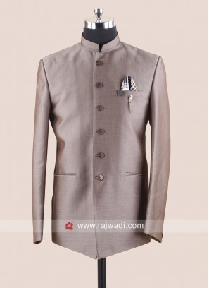 Golden Imported Fabric Suit