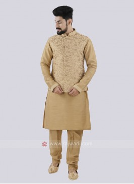 Golden Koti Set For Men