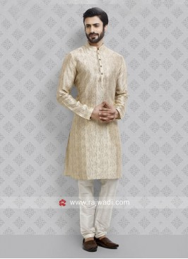 Golden Kurta Pajama