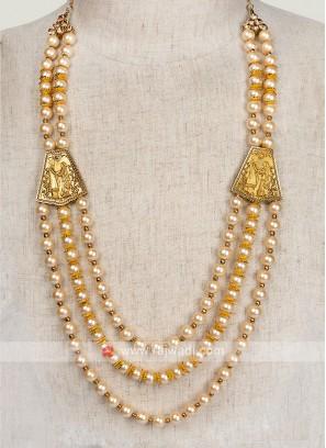 Golden Pearl Wedding Mala