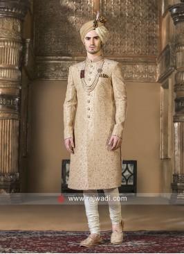 Golden Thread Work Sherwani