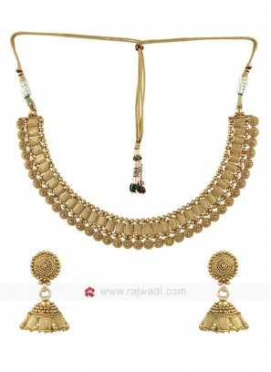 Golden Wedding Jewellery Set