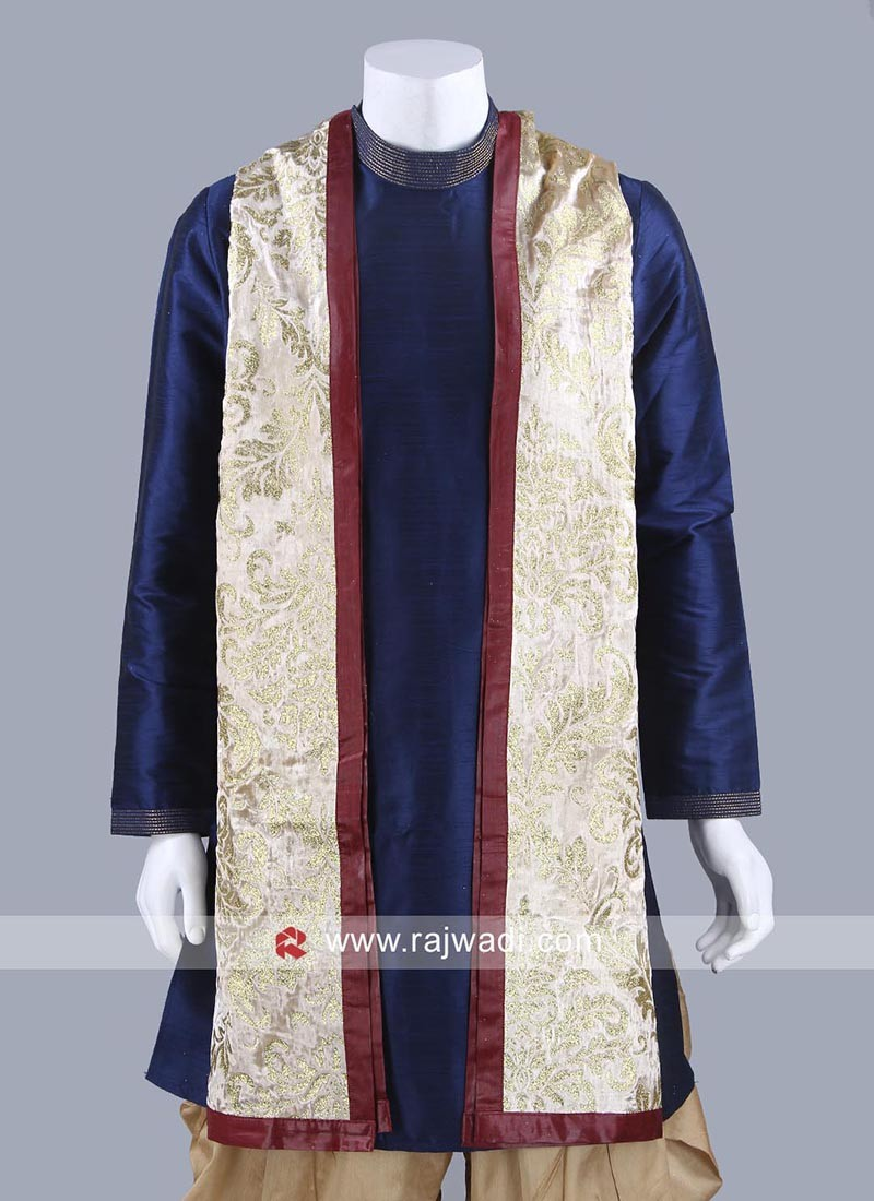 Golden Yellow Color Mens Dupatta
