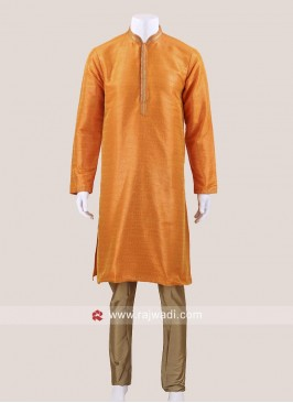 Golden Yellow Kurta Set