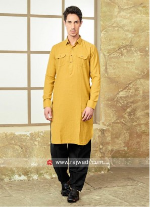 Golden Yellow Pathani