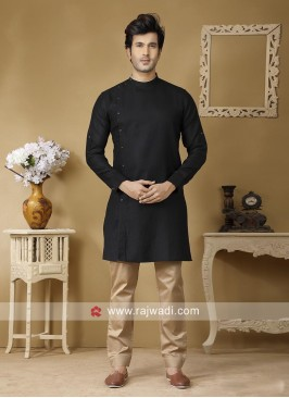 Black Color Kurta Set