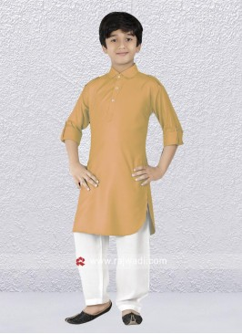 Goldenyellow Pathani Suit