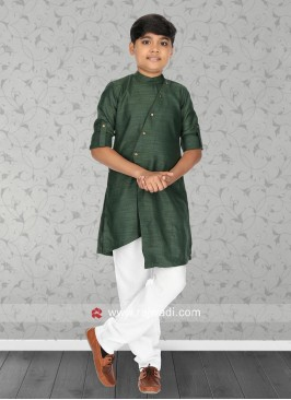 Gorgeous Green Kurta Pajama