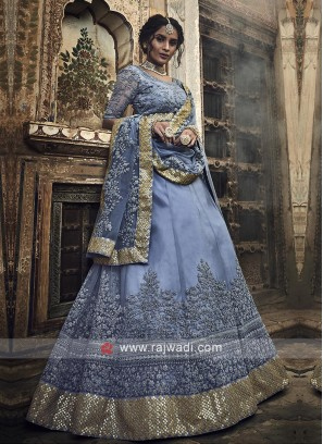 Gorgeous Grey Lehenga Choli