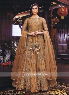 Gorgeous Jacket Style Salwar Kameez