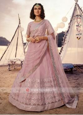 Gorgeous Lavender Lehenga Choli
