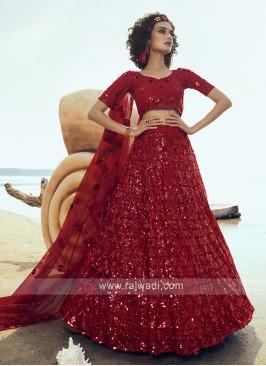 Gorgeous Net Lehenga Choli