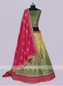 Gorgeous Silk Lehenga Choli
