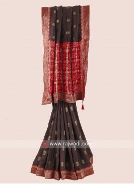 Gota Patti Work Designer Saree