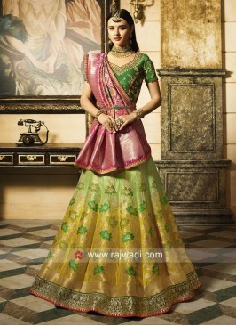 Gota Patti Work Lehenga Choli