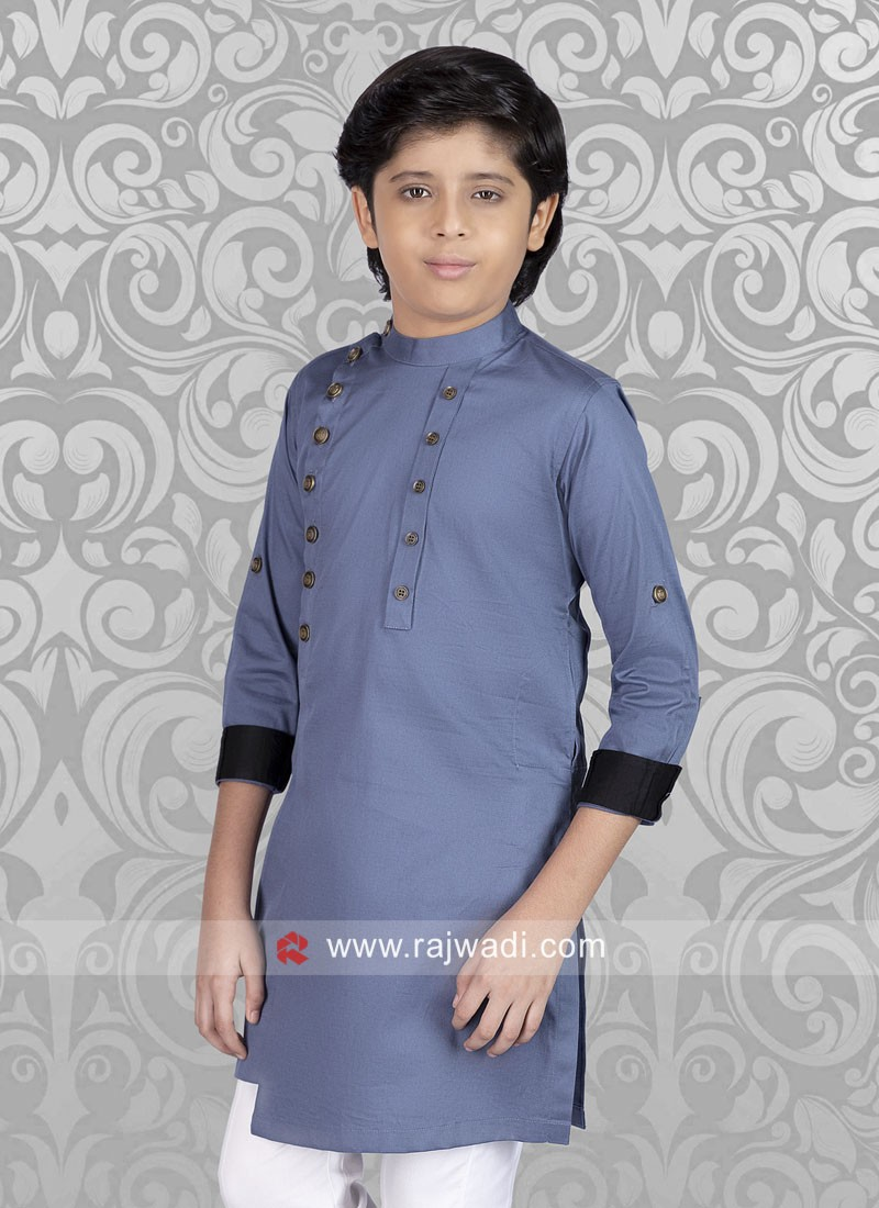 Graceful Cotton silk fabric Kurta
