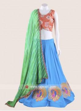 Graceful Peacock Design Chaniya Choli