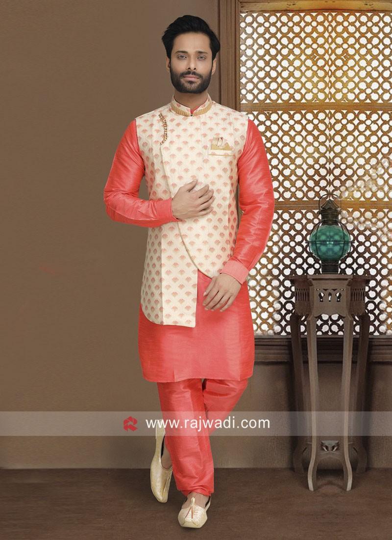 Graceful Wedding Nehru Jacket