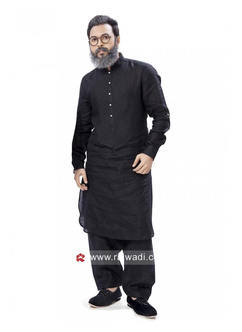 Graceful Festive Pathani Suit