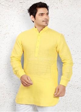 Graceful Yellow Kurta