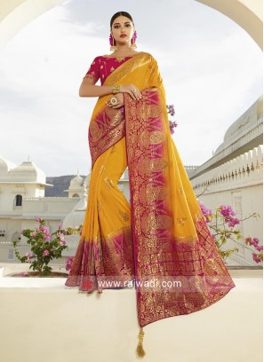 Stone Work Heavy Saree