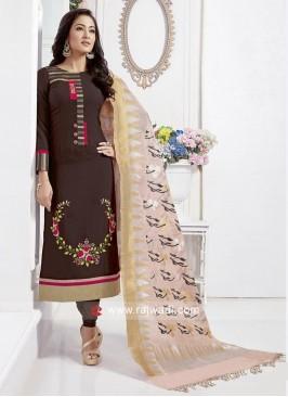 Rayon Silk Stitched Salwar Kameez