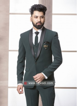 Green Color Imported fabric Suit