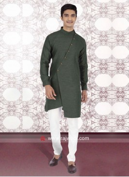Green Color Kurta Pajama