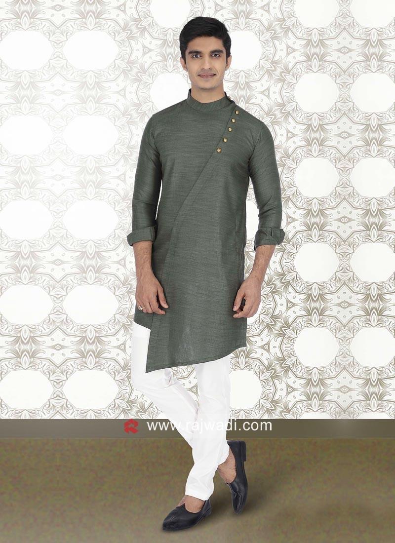 Green Color Kurta Pajama
