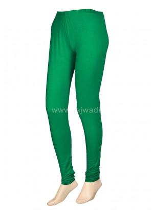 Green Coloured Leggings