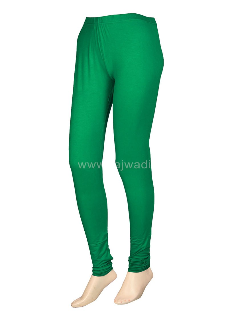 Green Coloured Leggings