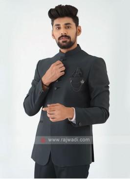 Green Jodhpuri Suit