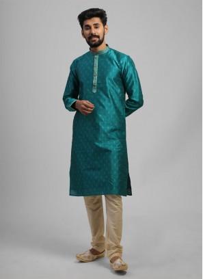 Green Kurta Pajama For Wedding