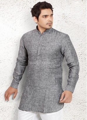 Grey coloured Kurta for Party