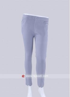 Grey Slim Fit Jeggings