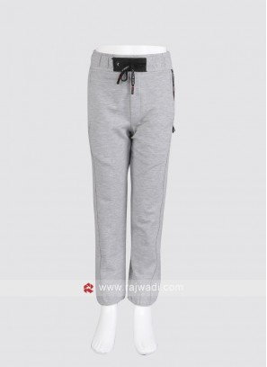 Grey Trackpant For Boys