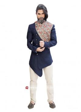 Designer Navy Color Indo Western