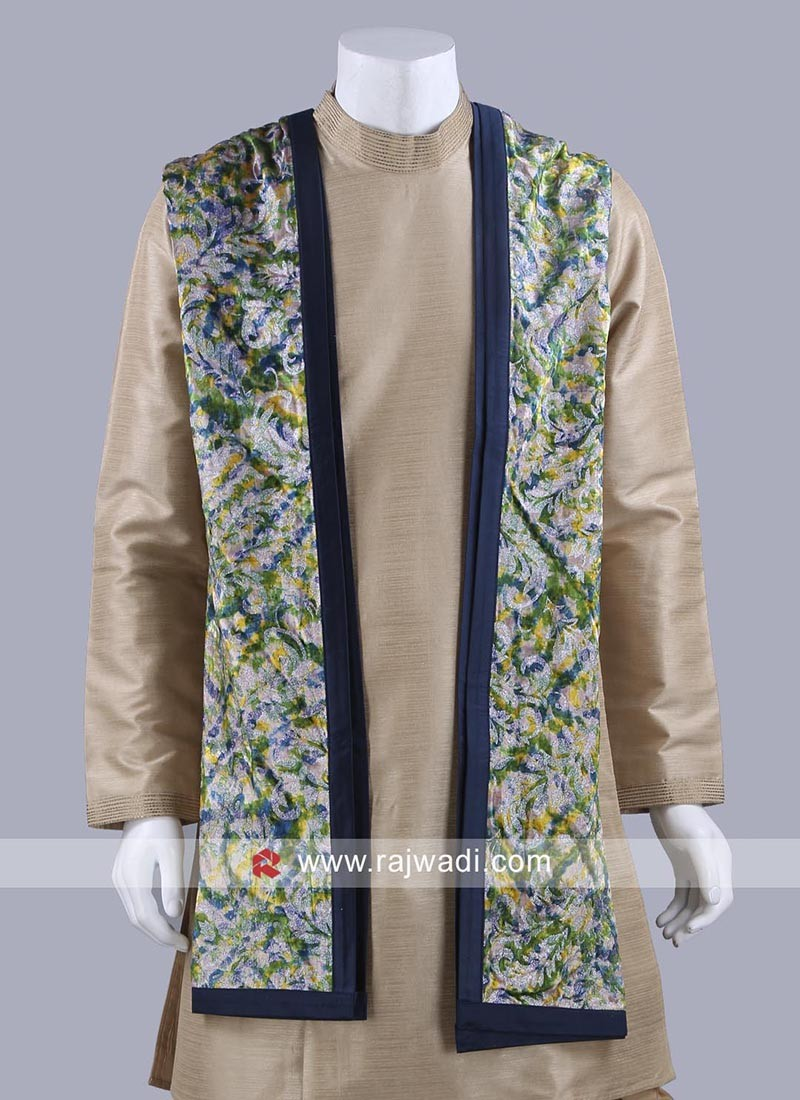 Groom Dupatta with Fancy Border