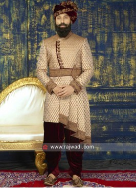 Groom Heavy Embroidery Sherwani