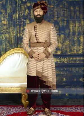 Groom Heavy Embroidery Sherwani
