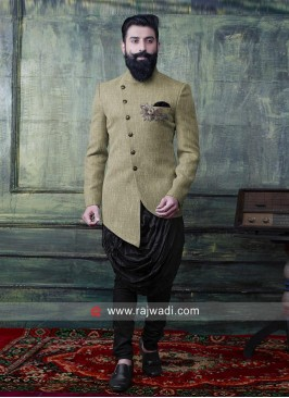 Groom Indo Western For Wedding