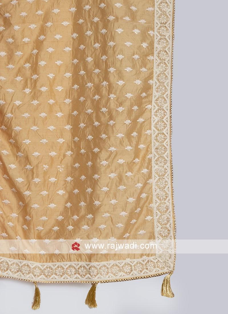 Grooms Stylish Silk Dupatta