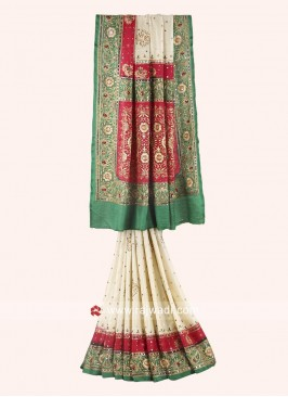 Gujarati Gharchola Saree for Bridal