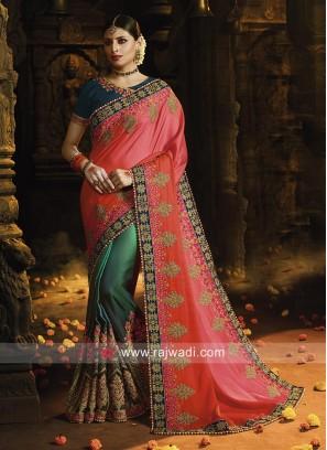 Half n Half Traditional Saree